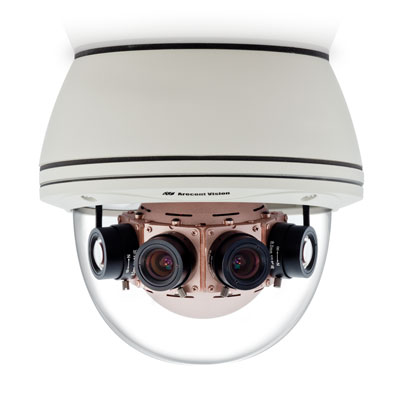 Arecont Vision ships industry's first 40-Megapixel 180° day/night panoramic camera