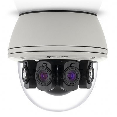 Arecont Vision SurroundVideo G5 180-degree for day/night situational awareness and easy installation with remote focus