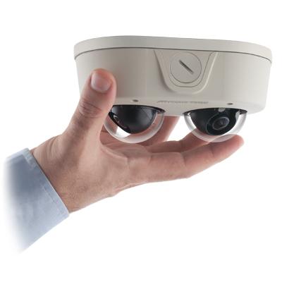 Arecont Vision AV6655DN remote focus user-configurable multi-sensor IP dome camera