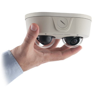 Arecont Vision AV6656DN Remote Focus User-Configurable Multi-Sensor IP Dome Camera