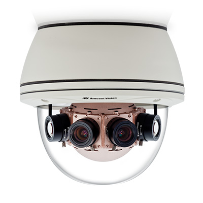 Arecont Vision AV8185DN dome camera with on-camera motion detection