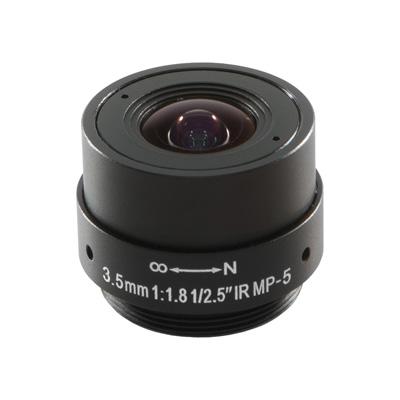 Arecont Vision MPL3.5 megapixel fixed-focal series lenses