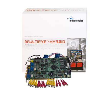artec 1650/8 digital video recorder kits