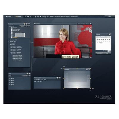 artec XentauriX® Broadcast Logger (XBL) Silverlight® Edition CCTV monitoring software