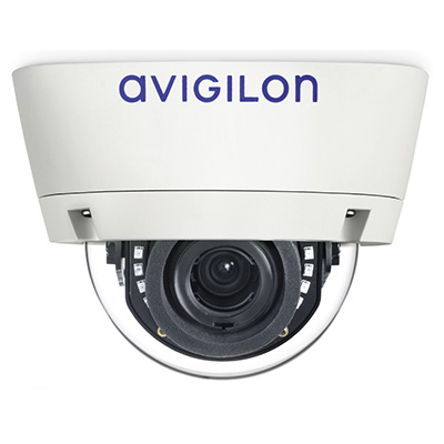 Avigilon 1.0-H3-D1-IR 1 MP Day/Night H.264 HD 3-9 mm Indoor Dome Camera With IR Illuminator