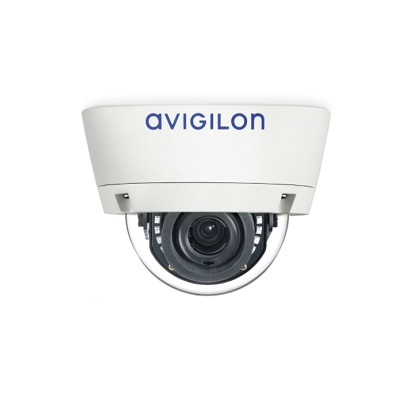 Avigilon 1.0C-H3A-DC1 indoor dome cameras with self-learning video analytics