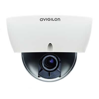 Avigilon 1.3L-H3-D 1.3 MP H.264 HD indoor dome camera with LightCatcher technology