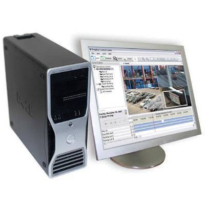 Avigilon 4C-500GB-HD-NVRWS high definition network video recorder workstation with 500 GB storage