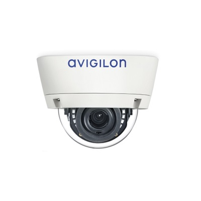 Avigilon 5.0-H3-DO1-IR 5MP day/night H.264 HD 3-9mm outdoor dome camera with IR illuminator