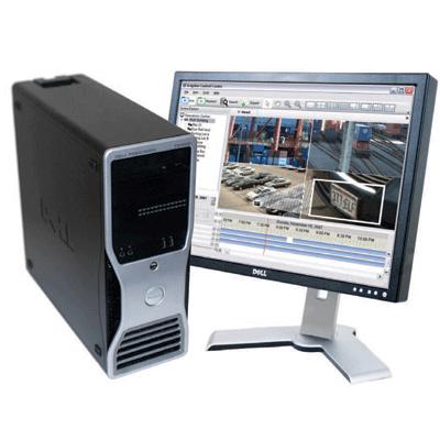 Avigilon 500GB-HD-NVRWS network video recorder with 64 camera channels