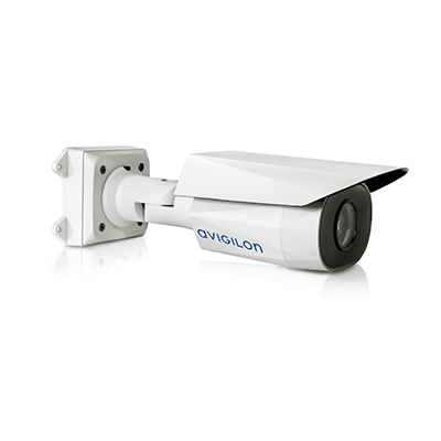 Avigilon 8.0-H4A-BO1-IR HD bullet camera with self-learning video analytics