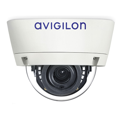 Avigilon 8.0-H4A-DC1 indoor dome camera with self-learning video analytics
