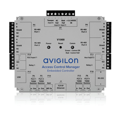 Avigilon AC-HID-LSP-ACMEC-KIT4 four door reader kit