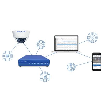 Avigilon VMA-BLU-8P8 subscription-based cloud service platform for security and surveillance