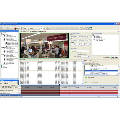 Avigilon Control Center HD POS Transaction Engine CCTV software