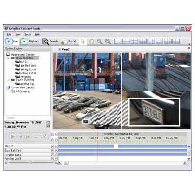 Avigilon Control Center is a software with high definition stream management