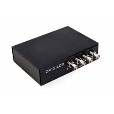 Avigilon ENC-4PORT-2AI analogue video encoder with 2 audio inputs