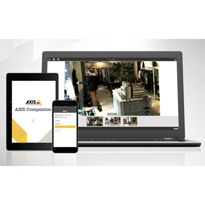 Axis Communications Camera Companion 3.11.001 video management software