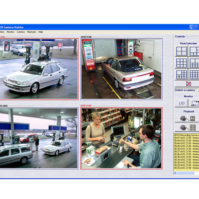 Axis Communications showcases AXIS Camera station - the latest developments in IP-Surveillance