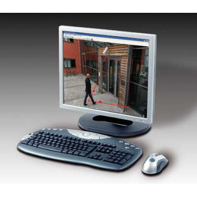 Axis Communications AXIS Cross Line Detection CCTV software for reliable indoor and outdoor detection