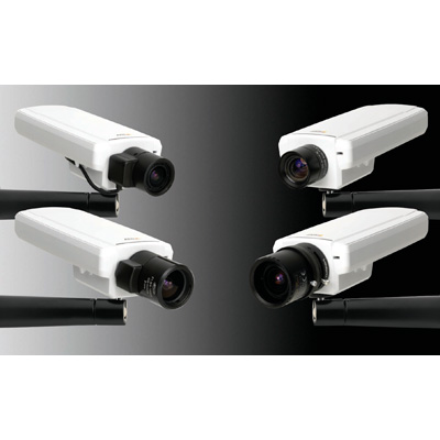 Axis Communications AXIS P1343 network camera with H.264 compression