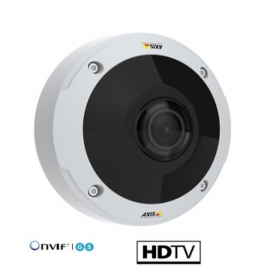 Axis Communications M3057-PLVE 6 MP dome with 360° panoramic view for all light conditions