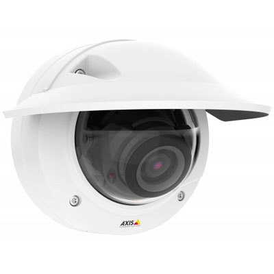 Axis Communications AXIS P3235-LVE HDTV 1080p day/night outdoor IR IP dome camera