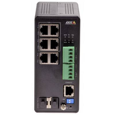 Axis Communications AXIS T8504-R 4 port managed industrial PoE++ Gigabit switch