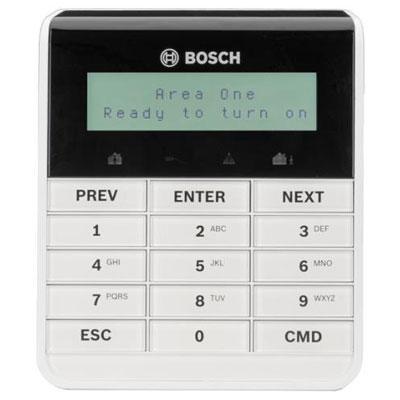 Bosch B915 two-line alphanumeric basic keypad with language function keys