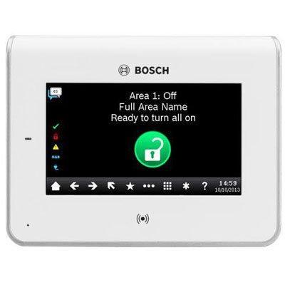 Bosch B942W white touch screen keypad