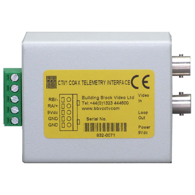 BBV CTI/1 coax telemetry interface