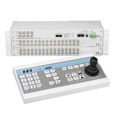BBV TX1500/KBD matrix and telemetry controller