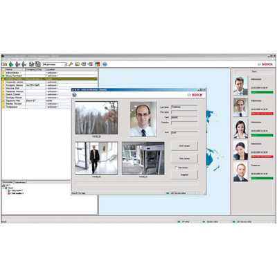 Bosch benefits from increasing awareness for its access control solutions