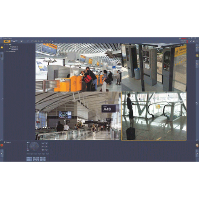 Bosch BVC-ESIP16A CCTV software with PTZ control and digital zoom