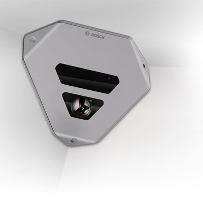 Bosch FLEXIDOME IP corner 9000 MP camera suitable for critical areas