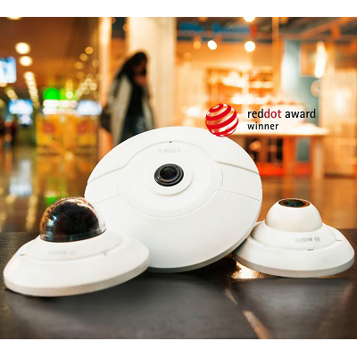 Bosch FLEXIDOME IP panoramic camera series - 360-degree overview in a single image