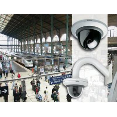 Bosch enhanced FlexiDomeXT cameras displayed at IFSEC 2005