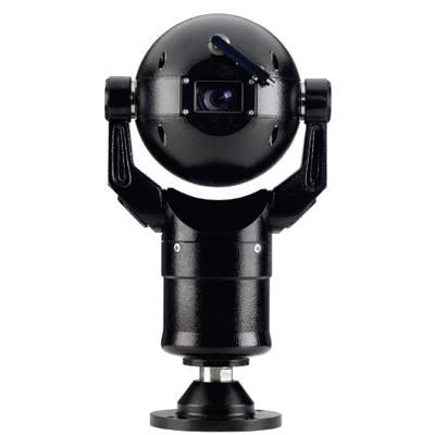 Bosch MIC400ALBUW13618P  MIC 400 series black CCTV dome camera with 18x zoom