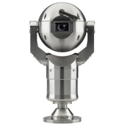Bosch MIC400STSCW13518P dome camera with integrated heater and long-life wiper