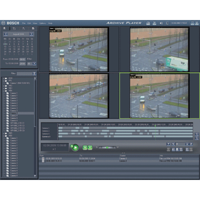 Bosch MVM-BVRM v2.10 CCTV software with distributed storage