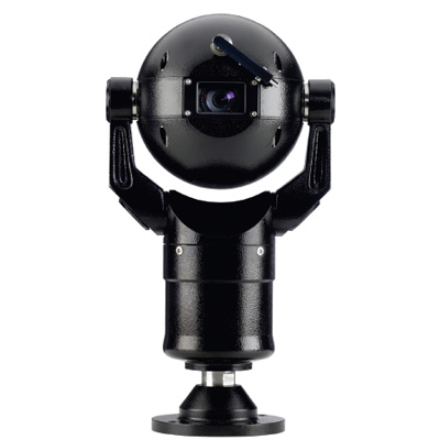 Bosch MIC400ALBUW13518P MIC 400 series black dome camera with 18x zoom