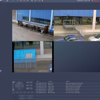 Bosch Video Client Windows PC application for live viewing and playback of network-connected cameras