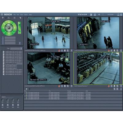 Bosch Video-over-IP (BVIP) Lite Suite CCTV software