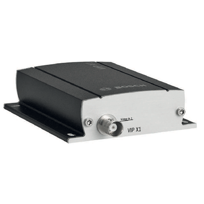 Bosch VIPX1 video server with alarm inputs and relay output
