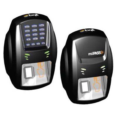 BQT Solutions Bio X & Bio XK Series outdoor fingerprint readers