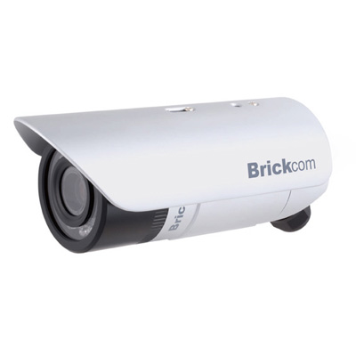 Brickcom GOB-040C bullet network camera with 3.3 ~ 12 mm focal length and WDR