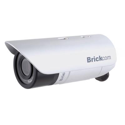 Brickcom OB-100A Bullet series provides ideal outdoor surveillance solution