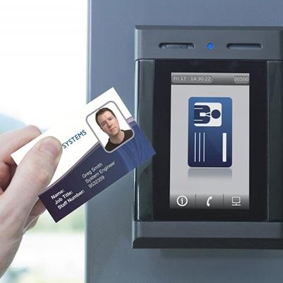 CEM Systems' emerald intelligent access terminal