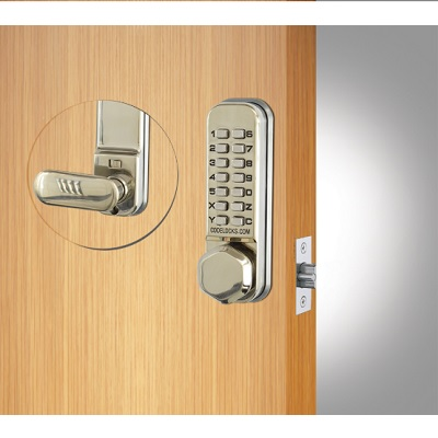 Codelocks CL255 light duty mechanical lock with mortice latch