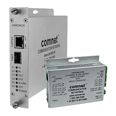 ComNet CNFE2MC2C/M Small Size 10/100 Mbps Ethernet Media Converter